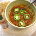 It's chilly . . . so chili it is!