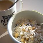 Sunshine snowflake oatmeal