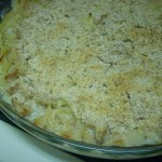 Turkey tetrazzini!
