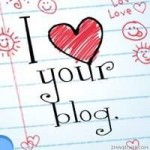 Feeling the blog love. . .