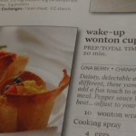 Wake-Up Wontons