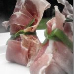BSI – Figs!  Prosciutto Purses Stuffed with Balsamic Fig Goat Cheese