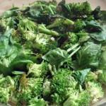 Crustless Broccoli Spinach Quiche