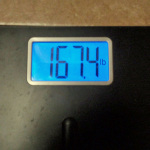 One Month Weigh In … Day 31 of 101
