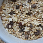 Crunchy Sesame Seed and Dried Cherry Granola