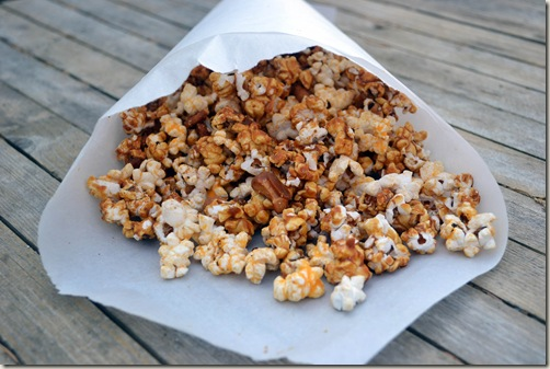 A Chicago staple - caramel and cheese popcorn combo - it's addicting!
