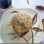 Vanilla Chobani Almond Poppy Seed Muffins