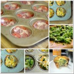 Broccoli and Cheese Breakfast Cups