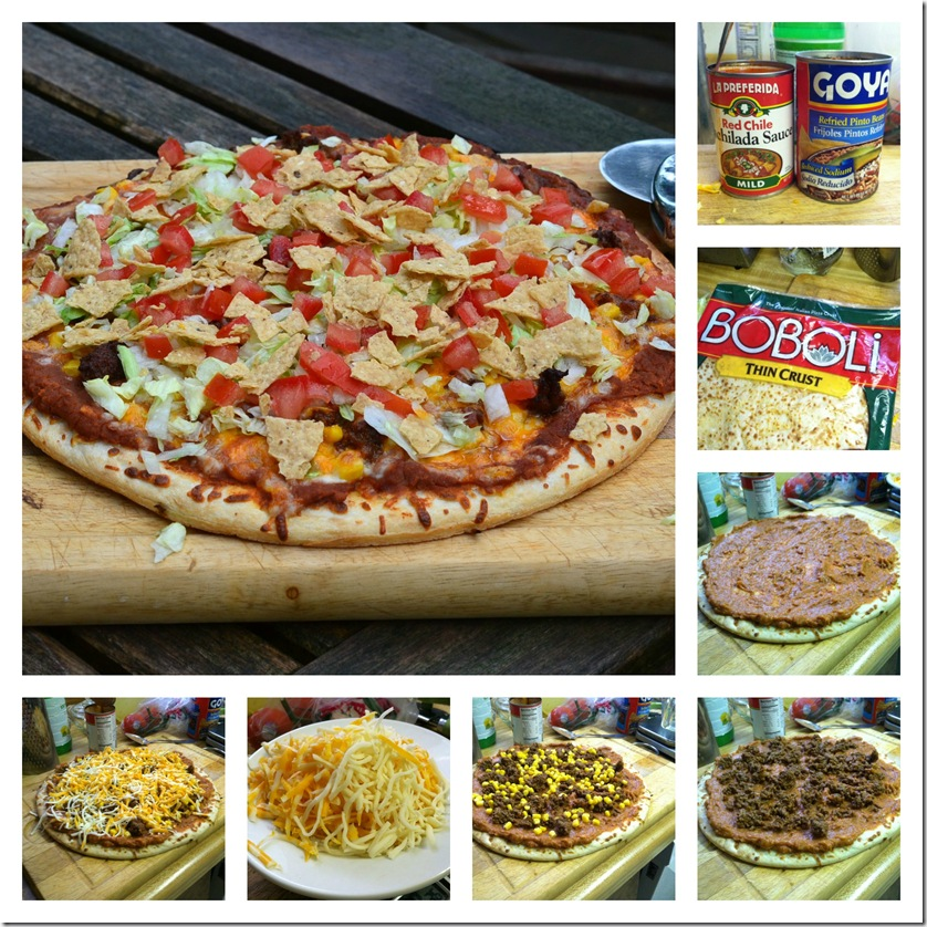 PicMonkey Collage mexican pizza