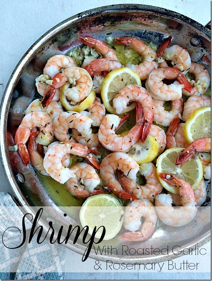 shrimp-with-roasted-garlic-and-rosemary-butter