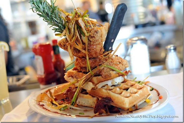 sage fried chicken tower