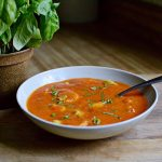 Cherry Tomato Basil Soup