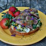 Steak Breakfast Toast