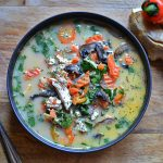 Healthy Tom Kha Gai
