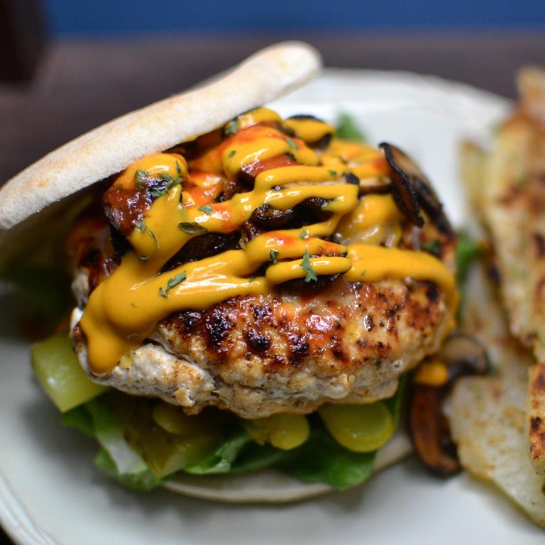The Perfect Turkey Burger My Bizzy Kitchen