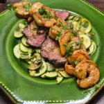 Steak and Shrimp with Creole Pan Sauce