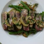 Steak With Lemon Pepper Pan Sauce