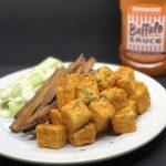 Crispy Buffalo Tofu Bites