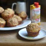 Skinny Banana Cream Muffins