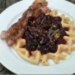 Vegan Lemon Waffles and Weekly WI